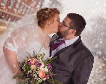 Plus Size Bridal Bolero. Wedding Shawl With 4 Wearing Options- Shawl, Shrug, Crisscross And Scarf. Ivory Lace Bolero, Wedding Shawl Wrap