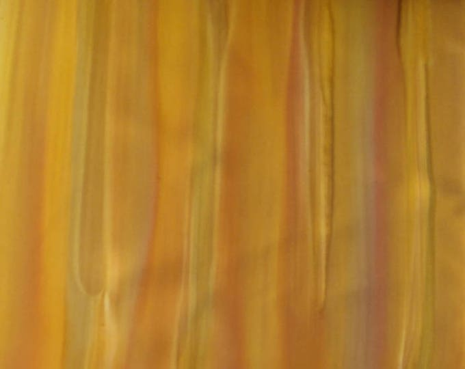 "Vintage Japanese silk kimono fabric 92 cm x 36/ 36"" x 14"" cm yellow orange running paint pop art silk"