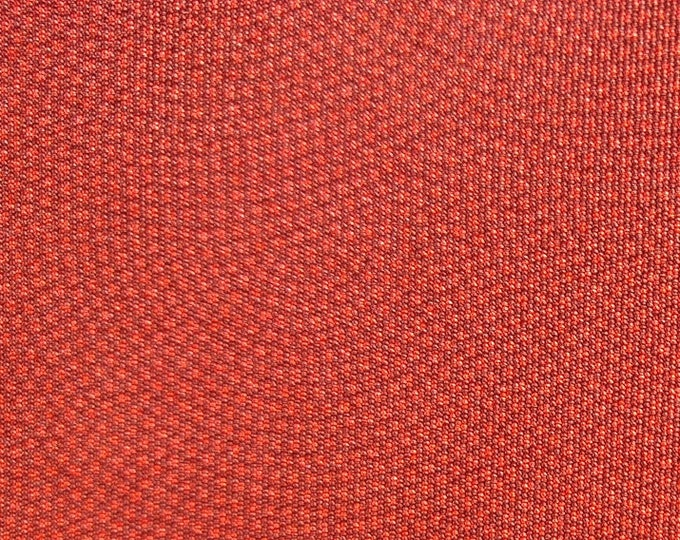 "Vintage Japanese silk kimono fabric 92 cm x 36 cm burnt orange/ red brown silk 36"" x 14"""