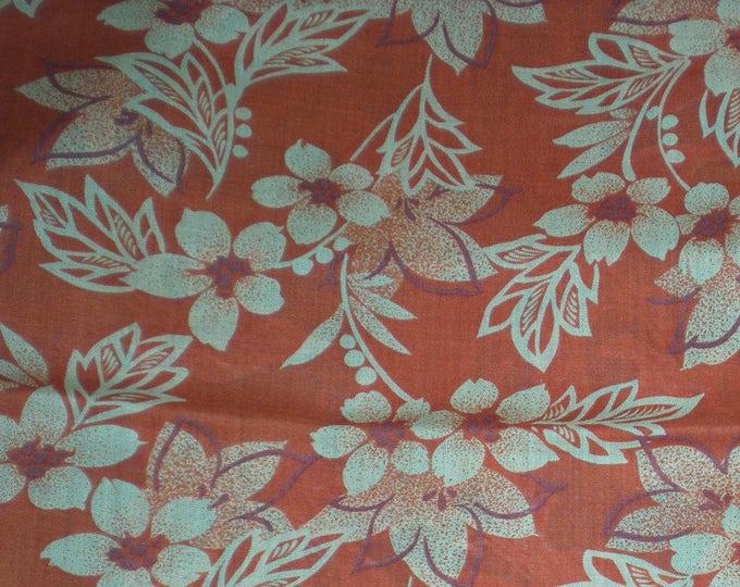 "Vintage Japanese wool kimono fabric 92 cm x 36 cm juban light weight summer wool 36"" x 14"""