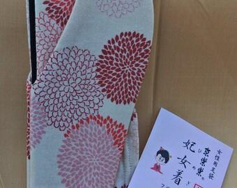 Brand new Tabi split toe socks for kimono and zori stretch 22.5cm to 25 cm foot length.