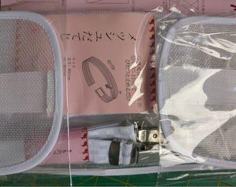 Japanese cotton yukata wearing kit with
