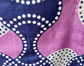 Funky colourful Retro Pop flower new with tages Japanese cotton yukata kimono geometric dots100% cotton
