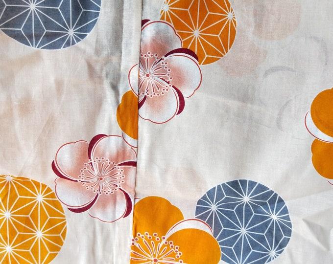 On Sale Brand New Japanese cotton yukata kimono 100% cotton various patterns.
