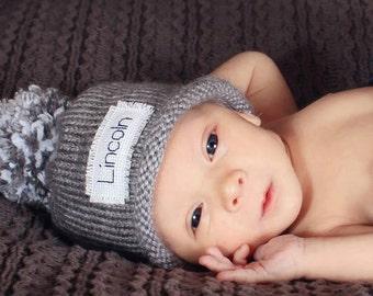 2a1856282e2 Monogram baby boy winter hat