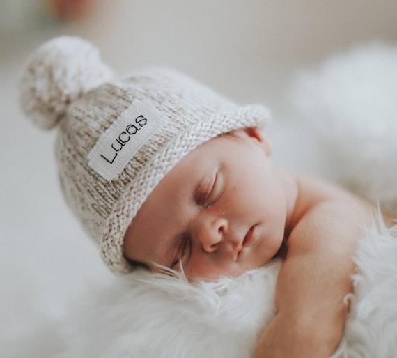 PHOTOS de nouveau-né chapeau de bébé tricot bonnet bébé   Etsy 2c9e42cf06d