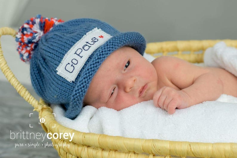 0bc5c536712bd NEW ENGLAND PATRIOTS Baby Boy Baby girl winter hat Newborn