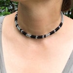 Custom Word Morse Code Choker D/s, Secret Code Necklace, Morse Code Choker, Made to Order, You Choose Text