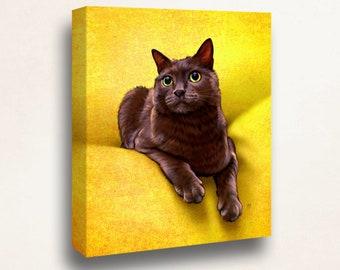 Custom Cat Portrait - your pet, my crazy RISK FREE portrait offer