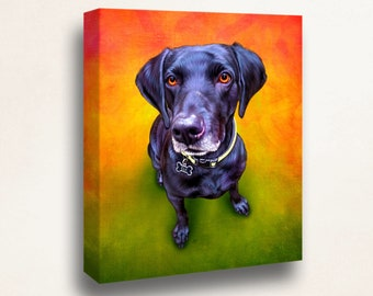 Custom Pet Painting Portrait, Classic Animal Portrait, Gift, Present Ideas, Funny, Cute, Print, Digital Male & Female, Digital Download