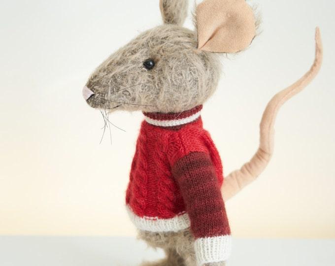 OOAK handmade Bereguod Bears Mohair mouse Mike