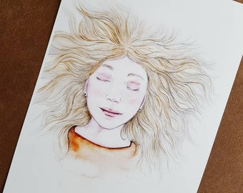 Studio Bereguod Print 20x30 A4. Dromen/Dreaming excl. fotolijst