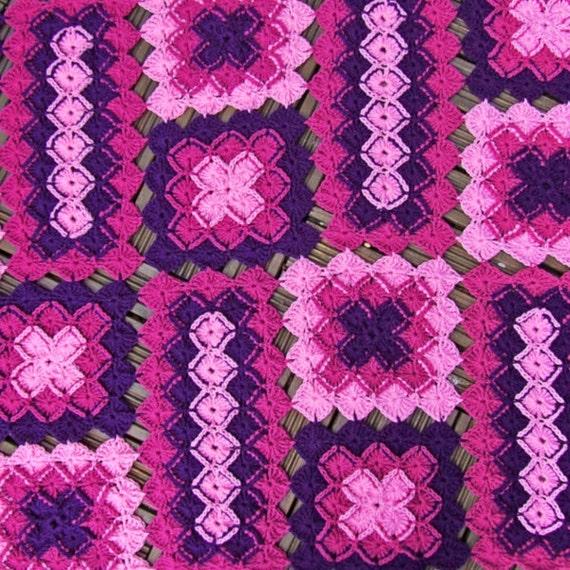 Crochet Blanket Pattern Bavarian Lap Blanket Afghan