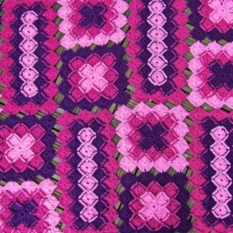 Crochet Blanket Pattern Bavarian Lap Blanket Afghan Etsy