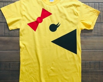 20ad2cc38ed Mrs PacMan Group Costumes   Fun PacMan T- Shirts  Adults and Youths Sizes