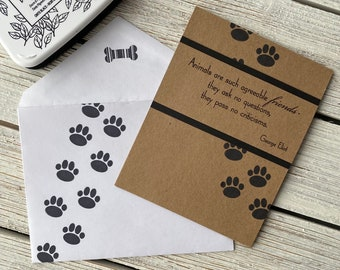 Dogs are Special Friends - Sympathy Card | Pet Loss Card, Dog Loss Card, In Memory Card, Sorry for your loss, Thinking of You, With Sympathy