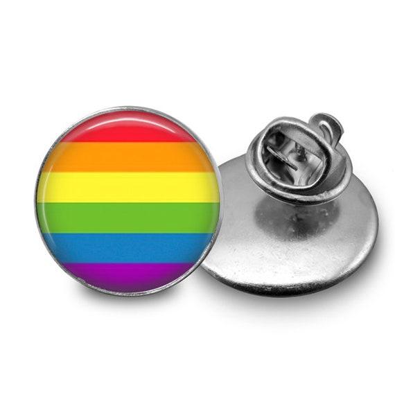 Gay Pin Rainbow Pingay Pride Pin Gay Button Gay Ally Pin Etsy