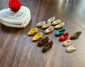 Vintage Topper Dawn Doll Size Shoes