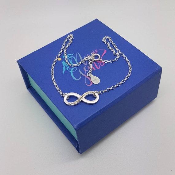 Infinity Anklet, Dainty Anklets for Women, Anklet, Ankle Bracelet for Women, Sterling Silver Anklets for Women, Silver Anklet, Body Jewelry