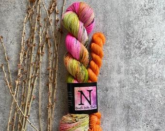 Frankencandy | Sock Set | Sock Yarn | Fingering Weight | Sock Knitting | Crochet Yarn | Soft & Squishy | One Of A Kind
