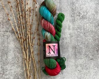 The Mouse King | Nutcracker | Christmas | Sock Set | 75/25 SW Merino Nylon + 20g Mini Skein
