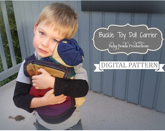 Easy Sew - Toy Doll Carrier - Pretend Play - Doll Accessories - Digital Pattern