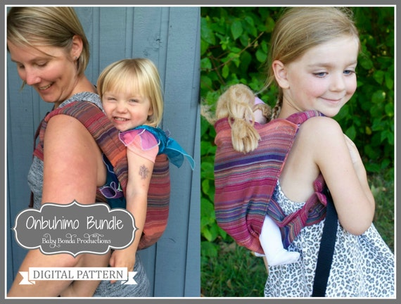 f58fddc0d19 Onbuhimo Babywearing Baby Carrier Bundle Mommy and Me