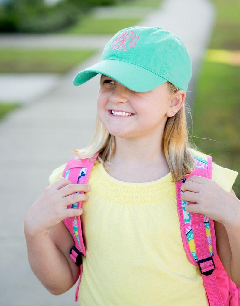 657b1f0b43a Mint Kid s Hat Personalized Cap Girl s Hat Kids