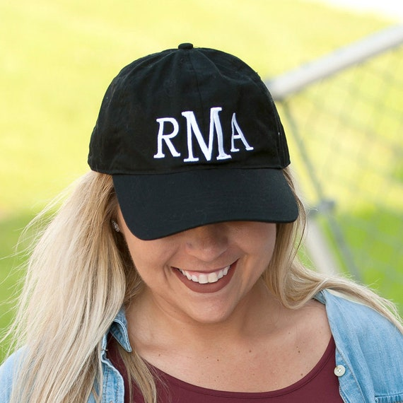 Black Ball Hat Women s Hat Baseball Cap Monogram Cap  00913c8860