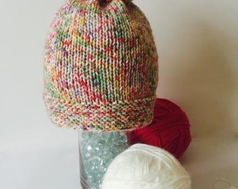 Confetti knit hat  60c9b27645e