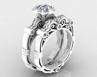 b808f57d829ef Caravaggio ring set | Etsy