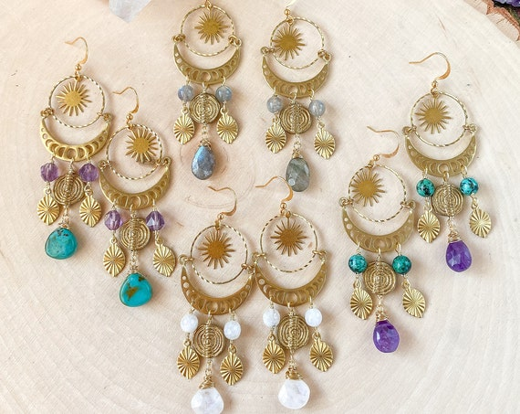 Celestial Boho Earrings