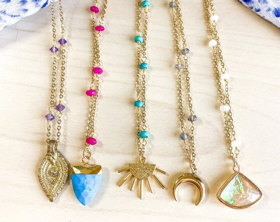 Mix & Match Boho Necklaces