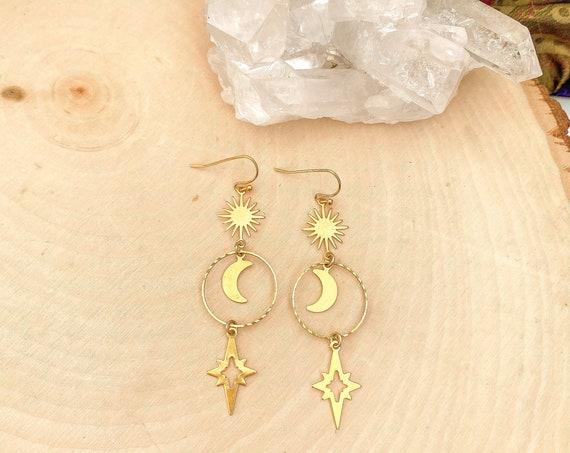 Celestial Boho Earrings