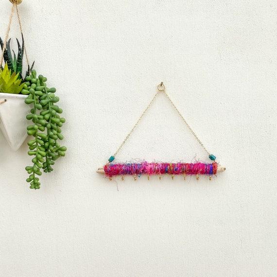 Sari Silk Driftwood Jewelry Organizer