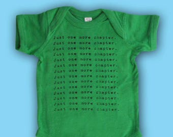 Book Lover's Mantra Baby Onesie