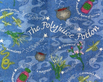 FQ Harry Potter The Polyjuice Potion - TM & Warner Bros. for Spring Industries 100% Cotton