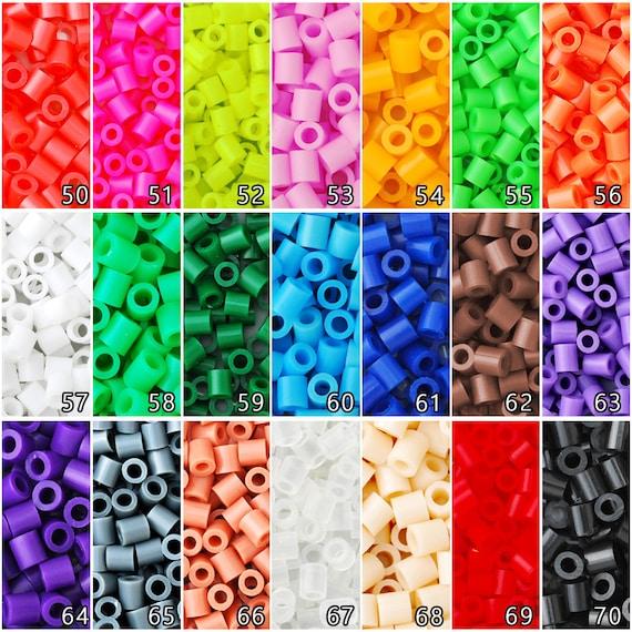 800pcs 5mm Bead Plastic Hama Beads Craft for Kid,Craft Bead,red