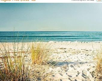 ON SALE nautical decor fine art photography beach 8x10 8x12 coastal prints ocean photography nature art print sand dunes water waves golden