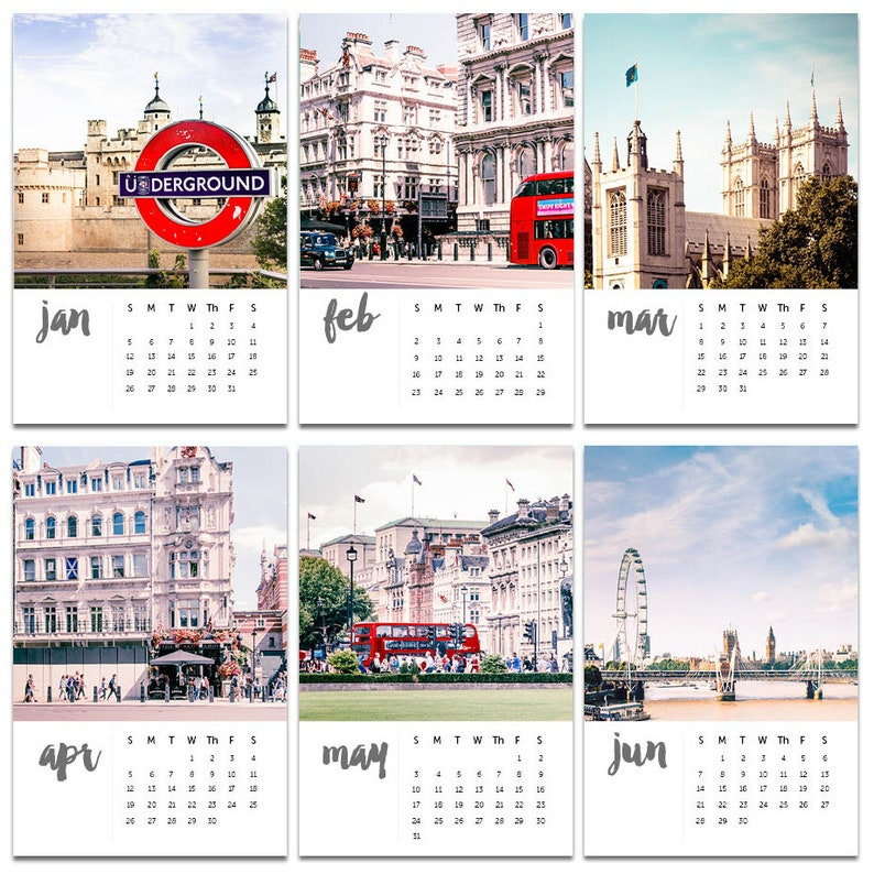london calendar 2020 photography calendar fine art photography 2020 desk  calendar with easel urban street photography 2020 london vintage