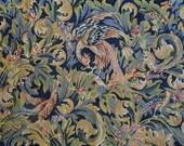 Wonderful medieval style bird needlepoint tapestry Finished needlepoint Birds completed tapestry 43.2 x 29.2 quot