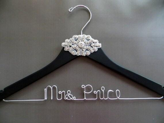 Bridal Hanger Bride Hanger CRYSTAL Wedding Dress Hanger,Rhinestone Wedding Dress Hanger