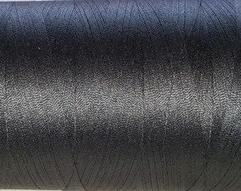 Gutermann Thread BLACK 5,468 yd/5,000 meter Cone Polyester Gutermann Mara 100 ONE (1) cone col. 000 Black