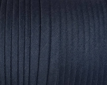 "Navy 10 Yards Bias Tape EXTRA WIDE Double Fold Bias Tape 1//2/"" 2/"" Flat"