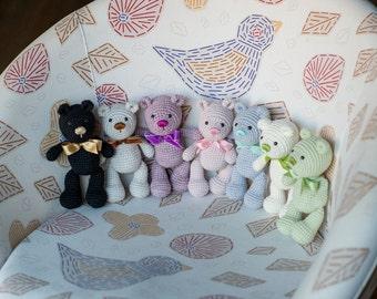 Crochet Teddy Bear Pattern - Amigurumi Teddy Bear Crochet Tutorial - Instant Download - Printable - In English
