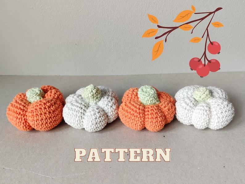 Pumpkin PATTERN  Crochet Amigurumi Pumpkin Tutorial  Instant image 1