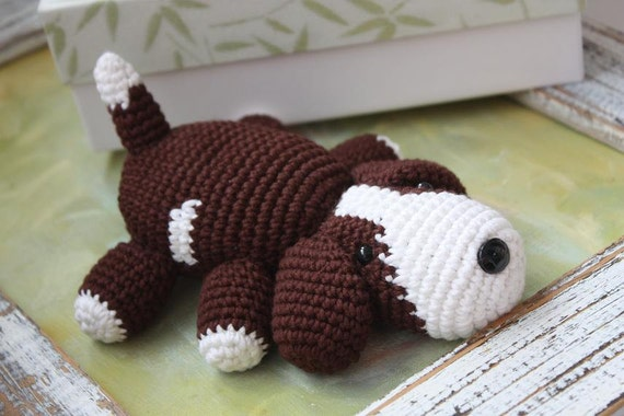25 Free Amigurumi Dog Crochet Patterns to Download Now! | 380x570