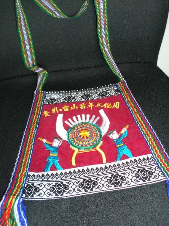 Folk Art SHOULDER BAG//CHINESE Folk Art - image 3