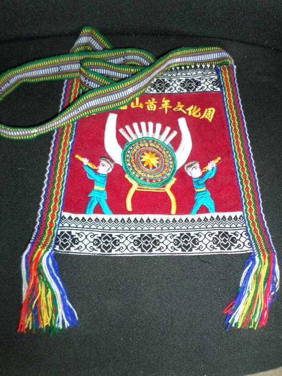 Folk Art SHOULDER BAG//CHINESE Folk Art - image 4
