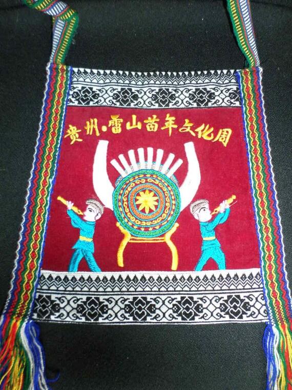 Folk Art SHOULDER BAG//CHINESE Folk Art - image 1
